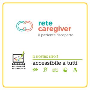 Il sito web Rete Caregiver riceve il marchio di accessibilità Yeah